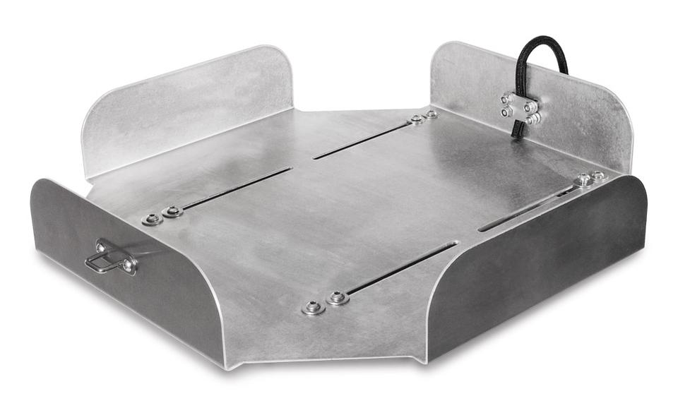 Thermobox 40 litres avec plaque de fixation, 35x35x33cm (H)