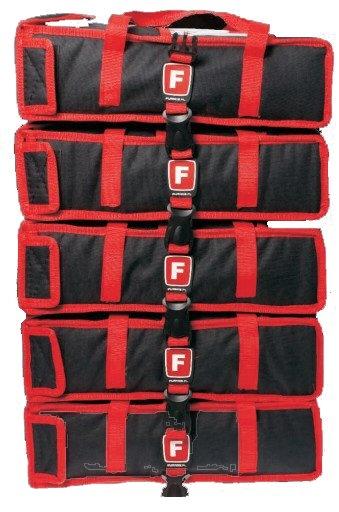 Tasche für 2 Pizzaschachteln, Innenmaße: 45 x 45 x 11 cm