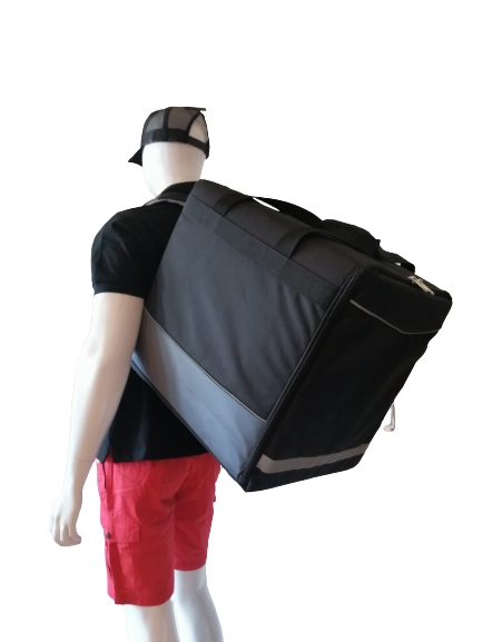 Large Backpack black solide, 45x45x48 (H) outside dimensions