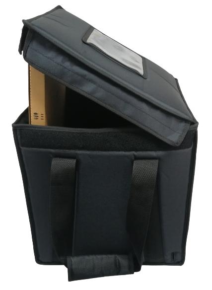 Sturdy Hamburgerbag 35x35x35cm, Nylon, Velcro closing