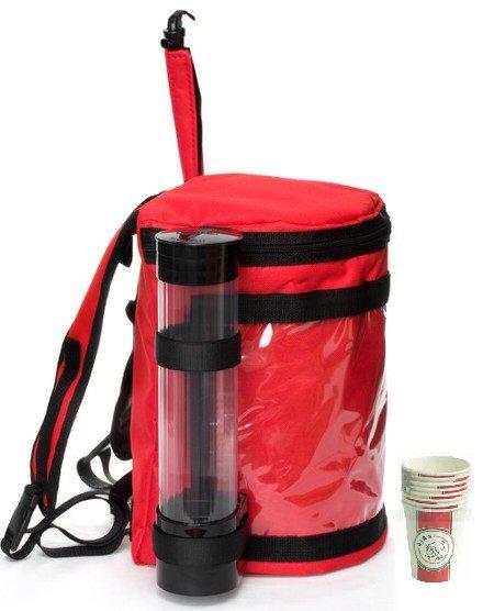 Thermo Tas voor koude of warme drankjes met tapkraan, 9ltr