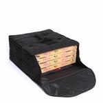 Pizzatas voor 4-5 dozen, 62 x 62 x 21cm, verwarmd, frame